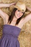 усмехаться девушки счастливый Стоковая Фотография RF