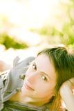 усмехаться девушки шикарный Стоковая Фотография