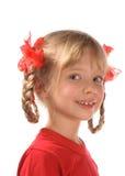 усмехаться девушки Стоковое Изображение RF