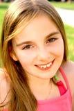 усмехаться девушки Стоковое Фото