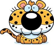 Усмехаться леопарда шаржа бесплатная иллюстрация