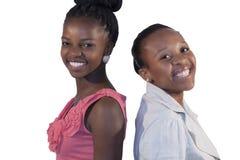 Усмехаться женщины 2 африканцев Стоковая Фотография RF