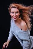 Усмехаться женщины Стоковые Фото