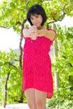Усмехаться женщины Стоковое Изображение RF