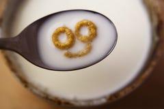 усмехаться завтрака Стоковое Фото