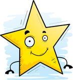 Усмехаться звезды шаржа иллюстрация вектора