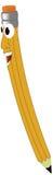 усмехаться карандаша Стоковое Фото