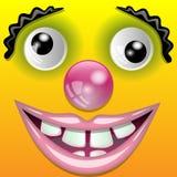 усмехаться клоуна бесплатная иллюстрация