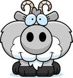 Усмехаться козы шаржа иллюстрация штока