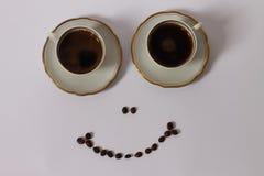 Усмехаться кофе 2 Стоковая Фотография