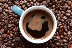 усмехаться кофе Стоковое Фото