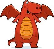 усмехаться красного цвета дракона бесплатная иллюстрация