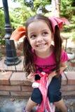 Усмехаться маленькой девочки Стоковые Фото