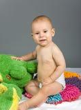 усмехаться малыша Стоковые Фото