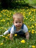 усмехаться малыша Стоковое Изображение RF