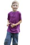 усмехаться мальчика красивый счастливо sporty Стоковое Изображение RF