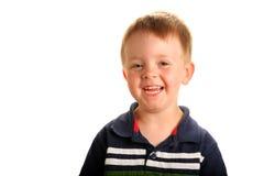 усмехаться мальчика милый Стоковая Фотография