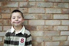 усмехаться мальчика Стоковая Фотография