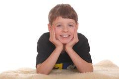 усмехаться мальчика Стоковые Фотографии RF