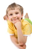 усмехаться мальчика Стоковые Изображения RF