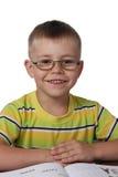 усмехаться мальчика Стоковое Фото