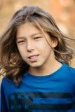 усмехаться мальчика предназначенный для подростков Стоковая Фотография RF