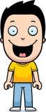 Усмехаться мальчика шаржа бесплатная иллюстрация
