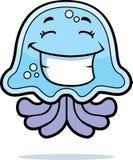 усмехаться медуз иллюстрация вектора
