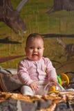 усмехаться младенца Стоковые Фото