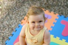 усмехаться младенца Стоковое фото RF