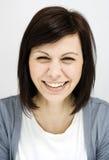 Усмехаться молодых женщин Стоковая Фотография