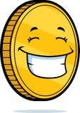усмехаться монетки иллюстрация штока