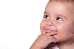 усмехаться младенца Стоковые Фотографии RF