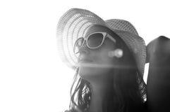 Усмехаться на солнце Стоковые Фото