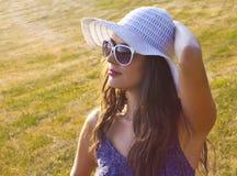 Усмехаться на солнце Стоковая Фотография RF