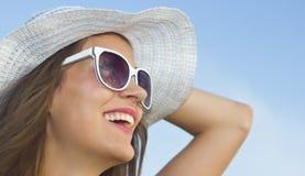 Усмехаться на солнце Стоковые Изображения RF