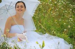 усмехаться невесты счастливый Стоковые Фото