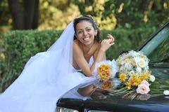 усмехаться невесты Стоковые Изображения RF