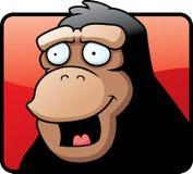 усмехаться обезьяны иллюстрация вектора