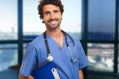 усмехаться доктора стоковое изображение rf