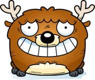 Усмехаться оленей шаржа бесплатная иллюстрация