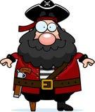 усмехаться пирата иллюстрация вектора