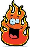 усмехаться пламени иллюстрация штока