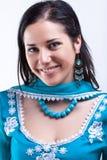 усмехаться повелительницы hindi Стоковое Фото