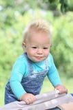 усмехаться портрета младенца Стоковые Фотографии RF