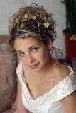 усмехаться портрета невесты Стоковые Фото