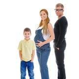 усмехаться портрета семьи счастливый стоковая фотография rf