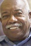 усмехаться портрета человека старший Стоковая Фотография RF