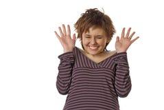 усмехаться предназначенный для подростков Стоковое Изображение