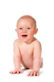 усмехаться прелестного младенца счастливый Стоковые Фото